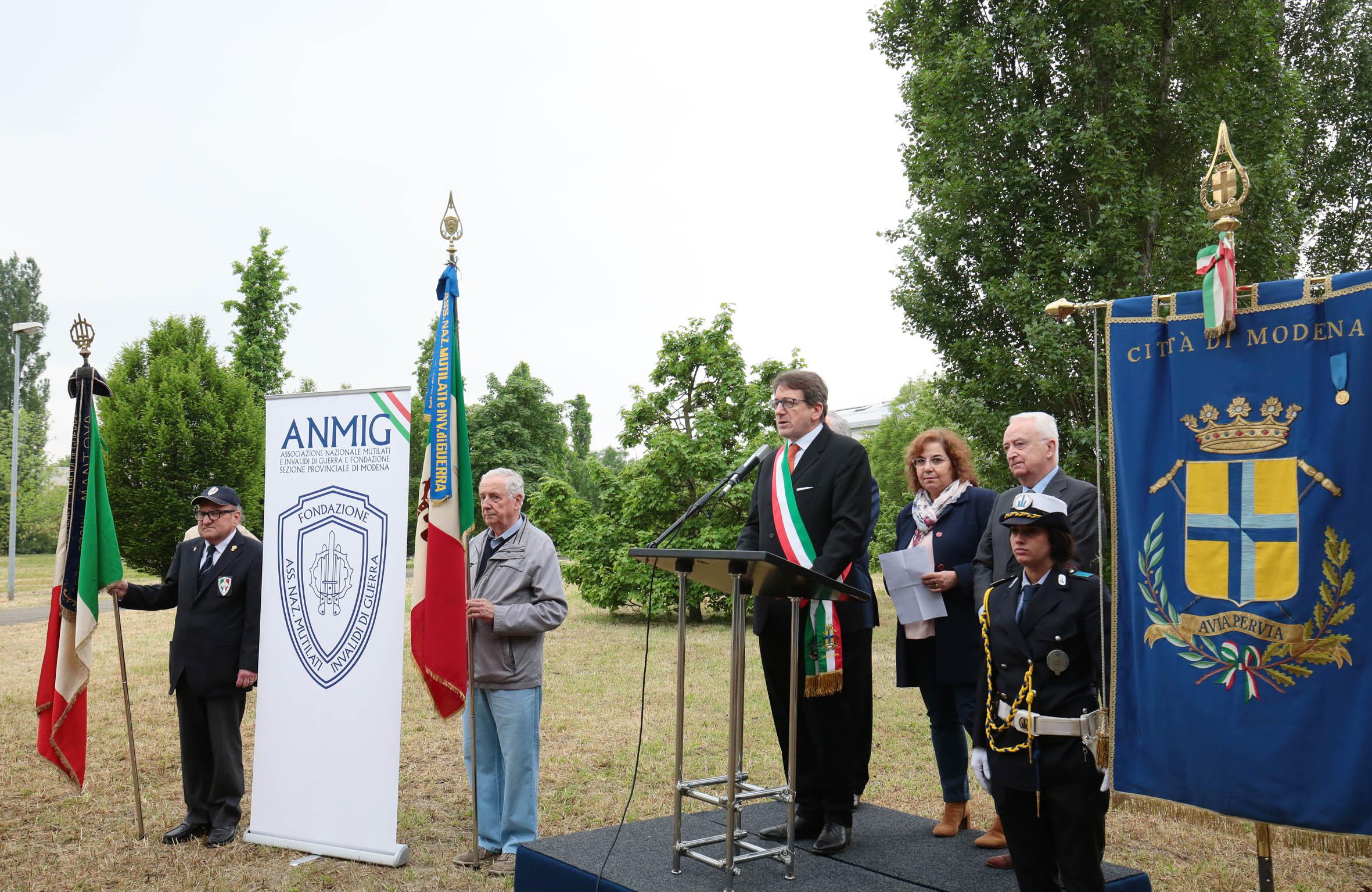 inaugurazione parco anmig