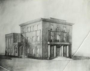 Progetto della Casa del Mutilato