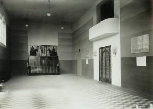 La sala conferenze - foto del 1939
