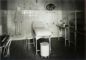 L'ambulatorio - foto del 1939