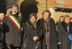 7 gennaio 2013 - piazza prampolini - delrio-de miro-cancelli