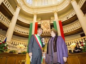 7 gennaio 2013 - sala tricolore - delrio-cancellieri